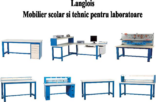 Mobilier scolar si tehnic pentru laboratoare