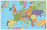. Harta Europa Rutiera 140 x 100 cm cod:12049500