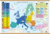 Harta Uniunea Europeana - 160 x 120 cm Print Digital-lb. română