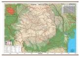 Harta Romania rutiera Print digital 160 x 120 cm cod:235117D3