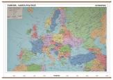 Harta Europa Administrativa + Harta Contur 160 x 120cm cod:R277017
