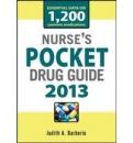 NURSES POCKET DRUG GUIDE 2013