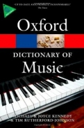 The Oxford Dictionary of Music <b>*OFERTA* </b>