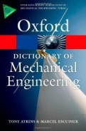 A Dictionary of Mechanical Engineering  <b>*OFERTA* </b>
