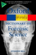 A Dictionary of Forensic Science  <b>*OFERTA* </b>