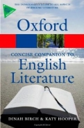 The Concise Oxford Companion to English Literature <b>*OFERTA* </b>