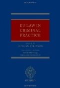 EU Law in Criminal Practice <b>*OFERTA* </b>