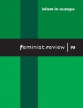 ISLAM IN EUROPE  (Feminist Review: Issue 98) <b>*OFERTA* </b>