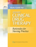 "Study Guide for Abrams"" Clinical Drug Therapy"