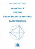 Teste grila pentru examenul de capacitate la matematica